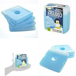 Cool Coolers Slim Reusable Ice Packs For Lunch Boxes Bags &