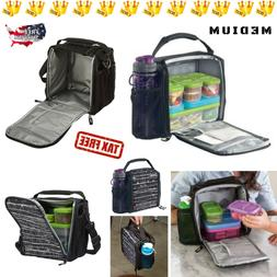 Cooler-Insulated-Lunch-Bag-Food-Storage-Container-Kids-Schoo