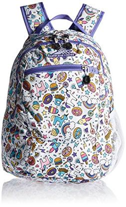 High Sierra Curve Backpack, Sweet Cakes/Lavender