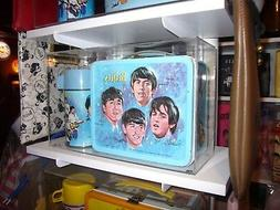 Custom Display Case for Beatles Blue Lunch Box & Thermos - R