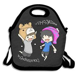 JUCHen Dan And Phil Lunch Bag Tote Handbag Lunch Boxes