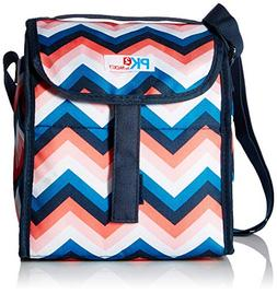 PackIt Deluxe Lunch Sack, Zig Zag