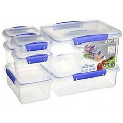 Dishwasher/Microwave Safe Airtight 16 Piece Value Pack Food