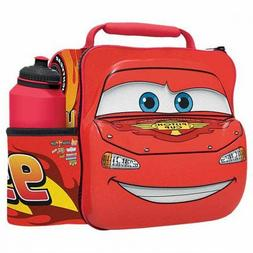 Boyz Toys Disney Pixar Cars 3D Thermal Lunch Bag With Bottle