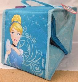 disney princess cinderella insulated lunch kit square