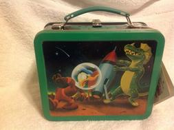 Donald Duck Metal Lunch Box New with Tag made for Disney by