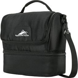 High Sierra Double-Decker Lunch Bag 3 Colors Travel Cooler N