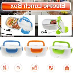Electric Heated US Plug Heating Lunch Box Bento Travel Food