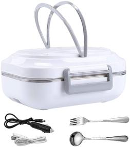 Electric Heating Lunch Box Car Home Office Travel Use Food W