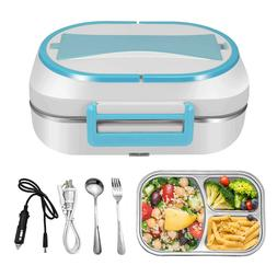 Electric Lunch Box Food Warmer Car Heater Container Portable