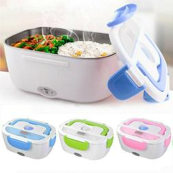 Electric Lunch Box Food Warmer Heater Container Travel Heati