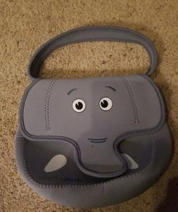 Arctic Zone Elephant Lunch Box Neoprene New w/ Removable Lin