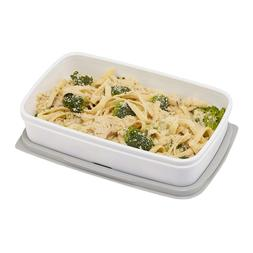 Rubbermaid Fasten + Go Entree Lunch Container, 4.1 Cup, Smok