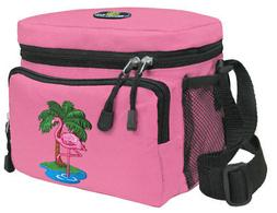 flamingos lunch bag pink flamingo lunchboxes