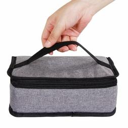 Lifewit Flat Insulated Lunch Box Lunch Bag Thermal Bento Bag