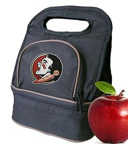 Florida State University Lunch Bag FSU Lunch Box - 2 Section