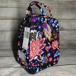 Vera Bradley FOXWOOD Iconic Lunch Bunch Bag High Quality Cot