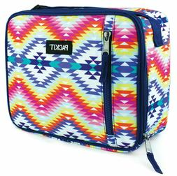 PackIt Freezable Classic Lunch Box Desert Oasis Work Picnic