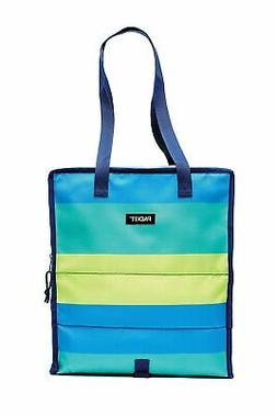 PackIt Freezable Grocery Bag Fresh Stripe