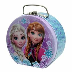Disney Frozen Lunch Boxes Semi-round Shaped Tin Box with Cla