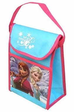 "Disney Frozen""Snow Queen"" Non Woven Vertical Lunch Bag with"
