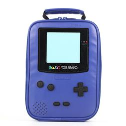 Game boy Leather Lunch Box Insulated Cooler Bag for Kids Boy