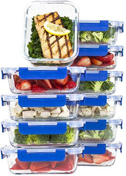 Glass Meal Prep Containers – Glass Food Storage Container