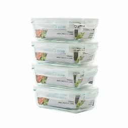 Glass Food Storage Containers with Locking Lids - Glass Mea