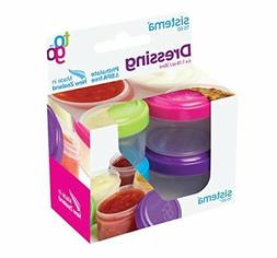 Sistema To Go Collection Dressing Food Storage Containers, 1