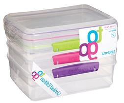 Sistema To Go Collection Rectangular Food Storage Container,