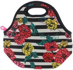 Built NY Gourmet Getaway Insulated Neoprene Lunch Bag Tote,