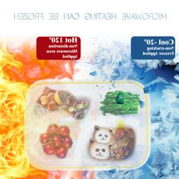 Green Bento Lunch Box For Adults and Kids with Spoon+Bowl Mi