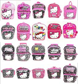 Hello Kitty Backpacks, Rolling Backpacks, Lunch Boxes. All S