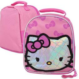 Hello Kitty Glitter lunch Bag