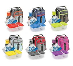 ARCTIC ZONE HIGH-PERFORMANCE DUAL-COMPARTMENT LUNCH BOX  NEW