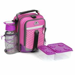 Arctic Zone High-Performance Dual-Compartment Lunch Box, Col