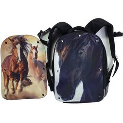 Horse Backpack For Girls Boys Kids School Travel Cusual Lunc