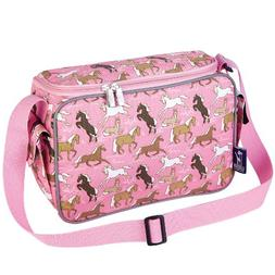 Wildkin Horses in Pink Lunch Cooler
