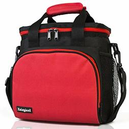 Insulated Lunch Bag: InsigniaX Adult Lunch Box For Work, Men