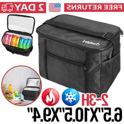 Insulated Lunch Bag Box for Women Men Thermos Cooler Hot Col