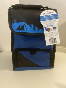 Arctic Zone Insulated Lunch Bag Cooler Dual Closure extra ca