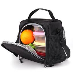 SMALL Lunch Box 6 Cans Lunch Bag ONE MEAL with Shoulder Stra