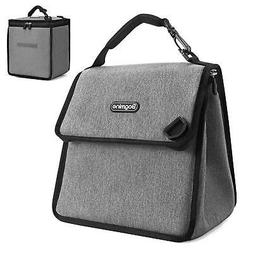 Bagmine Insulated Lunch Bag Expandable Lunch Box with Waterp