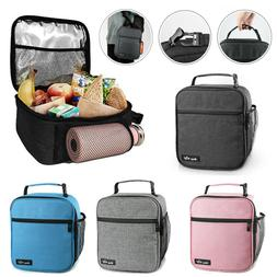 Insulated Lunch Bag for Men Women Reusable Lunch Box Adult C