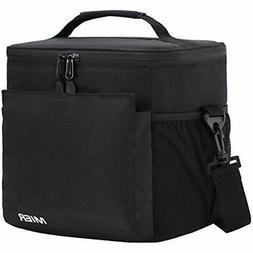 - MIER Insulated Lunch Bag Men And Women Soft Cooler Box Tot