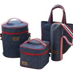 Insulated Lunch Bag Premium Adult Lunch Box For Work Gym Sch
