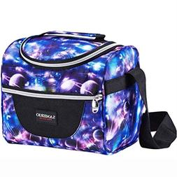 Insulated Lunch Bag for Kids Cooler Lunch Box For Work Schoo