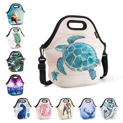 Insulated Lunch Bags for Women Kids Large Neoprene Office Sc
