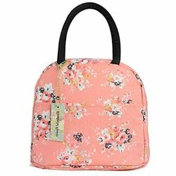 Insulated Lunch Box Cooler Bag Lunch Bag Flower  Kitchen &am