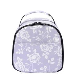 wonderful flower Insulated Lunch Box Cooler Bag lunch bag fl
